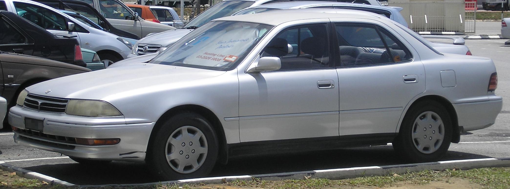 Toyota Vista III (V30) 1990 - 1994 Sedan-Hardtop #5
