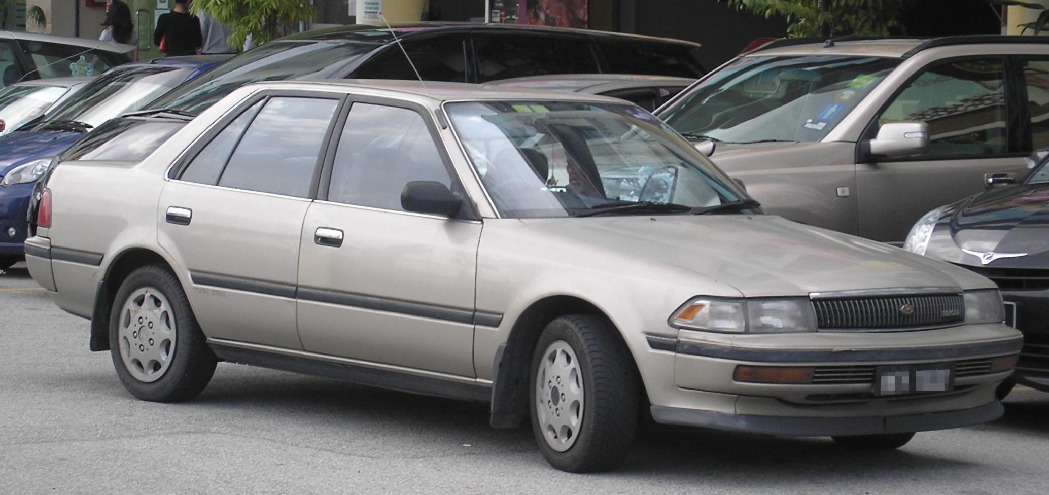 Toyota Carina ED I (T160) 1985 - 1989 Sedan-Hardtop #1