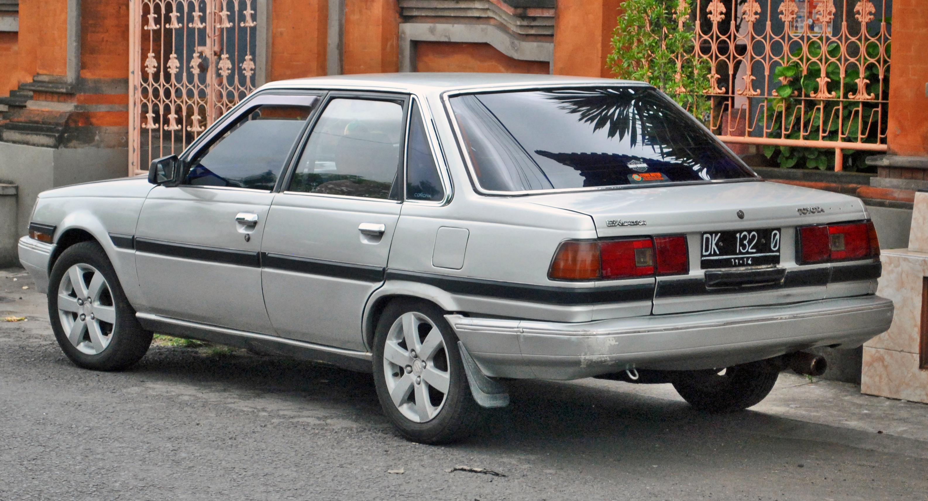Toyota Carina ED I (T160) 1985 - 1989 Sedan-Hardtop #6