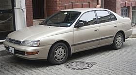 Toyota Corona IX (T190) 1992 - 1998 Liftback #8