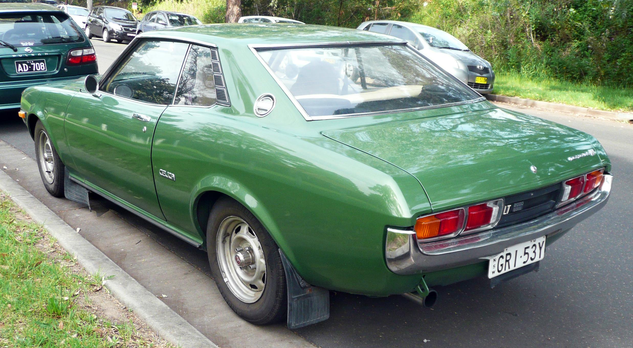 Toyota Celica I (A20ቿ) 1970 - 1977 Liftback #5