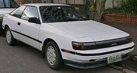 Toyota Celica IV (T160) 1985 - 1989 Liftback #8