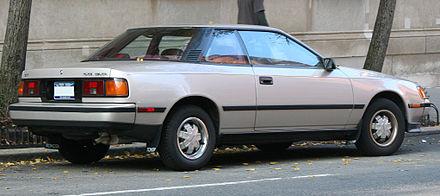 Toyota Celica IV (T160) 1985 - 1989 Liftback #4