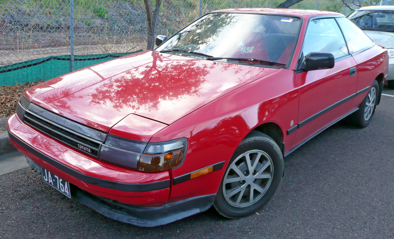 Toyota Celica IV (T160) 1985 - 1989 Liftback #2