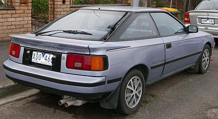 Toyota Celica IV (T160) 1985 - 1989 Liftback #7