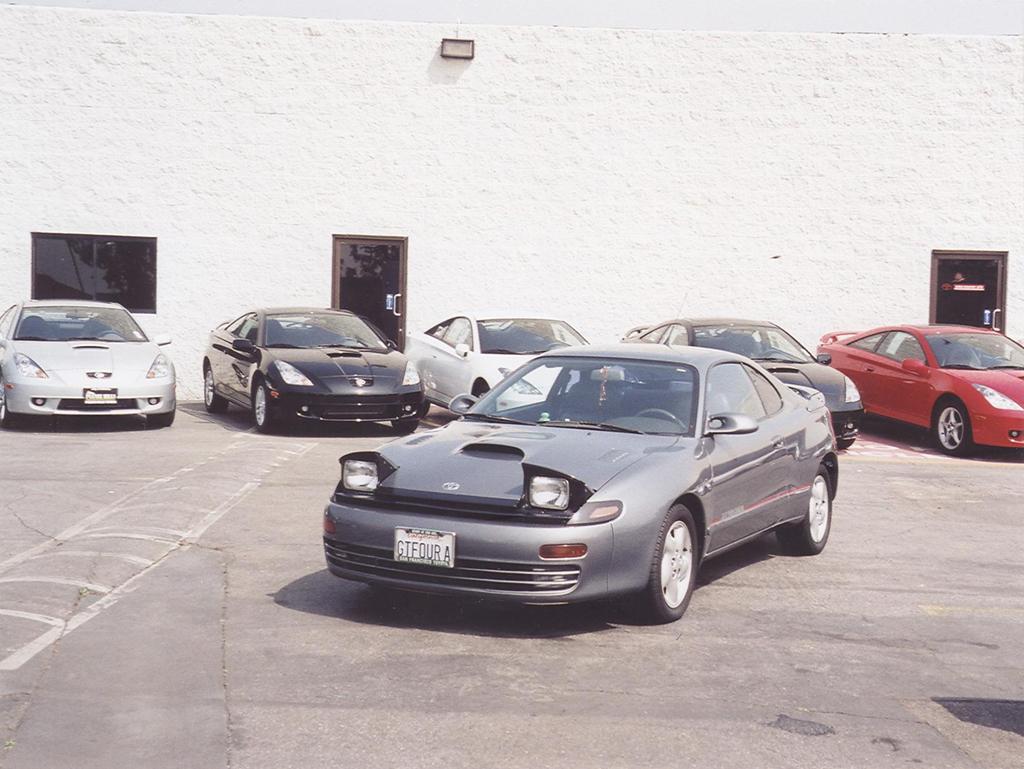 Toyota Celica VI (T200) Restyling 1995 - 1999 Hatchback 3 door #5