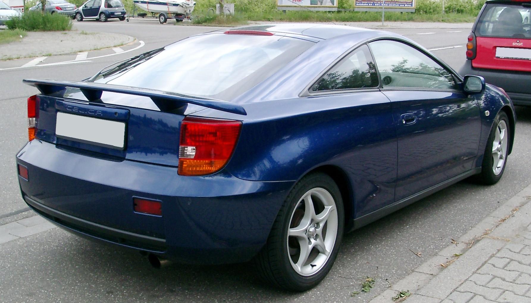 Toyota Celica VII (T230) 1999 - 2002 Hatchback 3 door #5