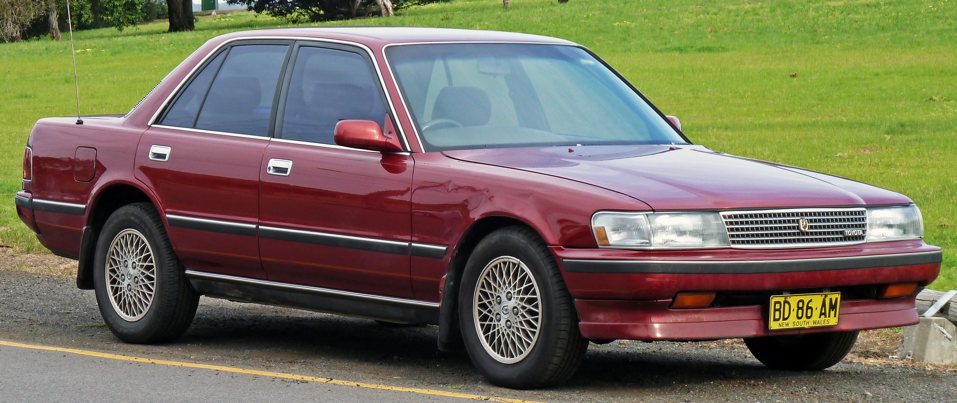 Toyota Chaser IV (X80) 1988 - 1992 Sedan #1