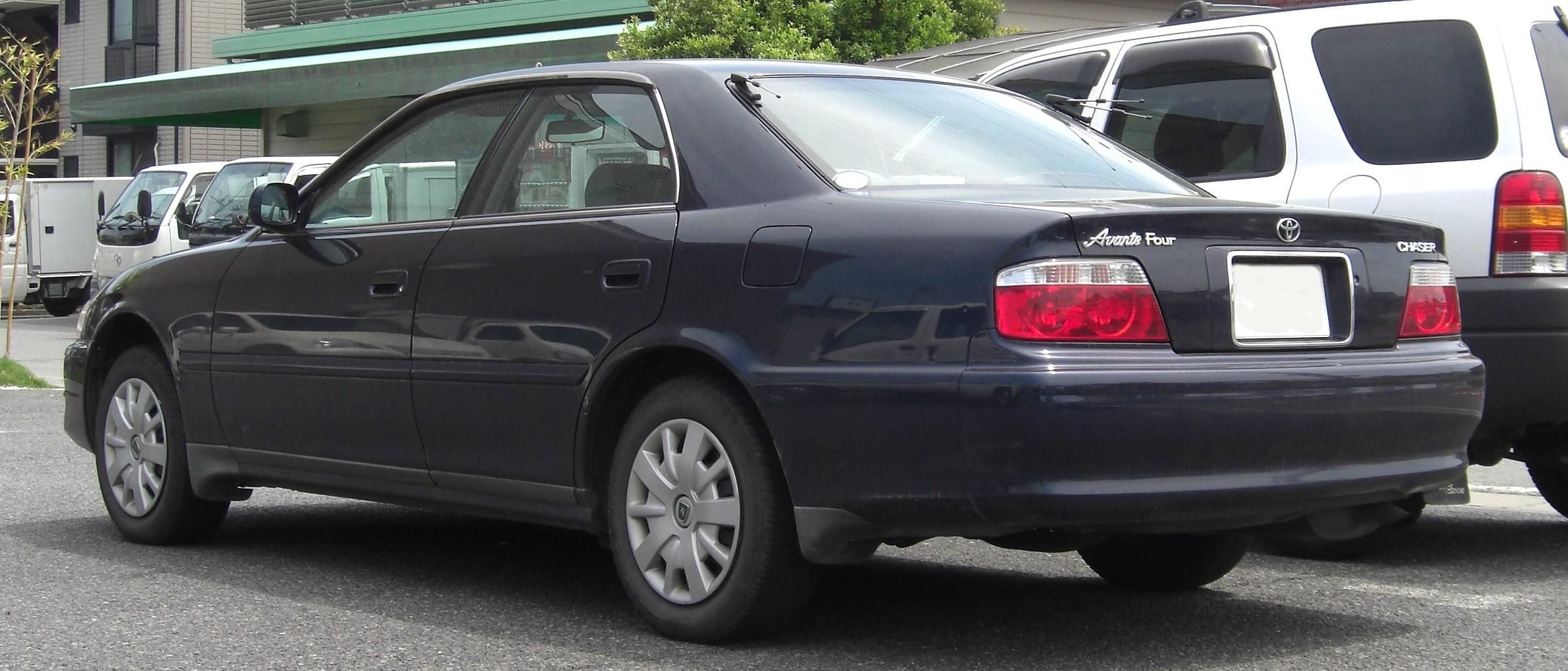 Toyota Chaser VI (X100) Restyling 1998 - 2001 Sedan #3