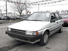 Toyota Corolla II III (L30) 1986 - 1990 Hatchback 5 door #8