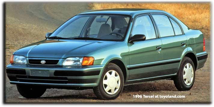 Toyota Corolla II V (L50) 1994 - 1999 Hatchback 3 door #2