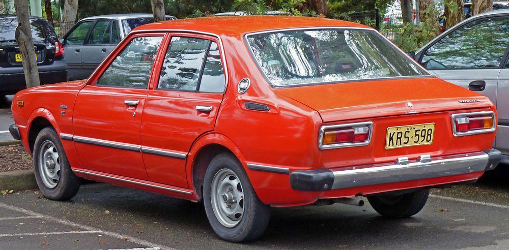 Toyota Corolla III (E30, E40, E50, E60) 1974 - 1979 Coupe #6