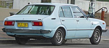 Toyota Corolla III (E30, E40, E50, E60) 1974 - 1979 Coupe #8
