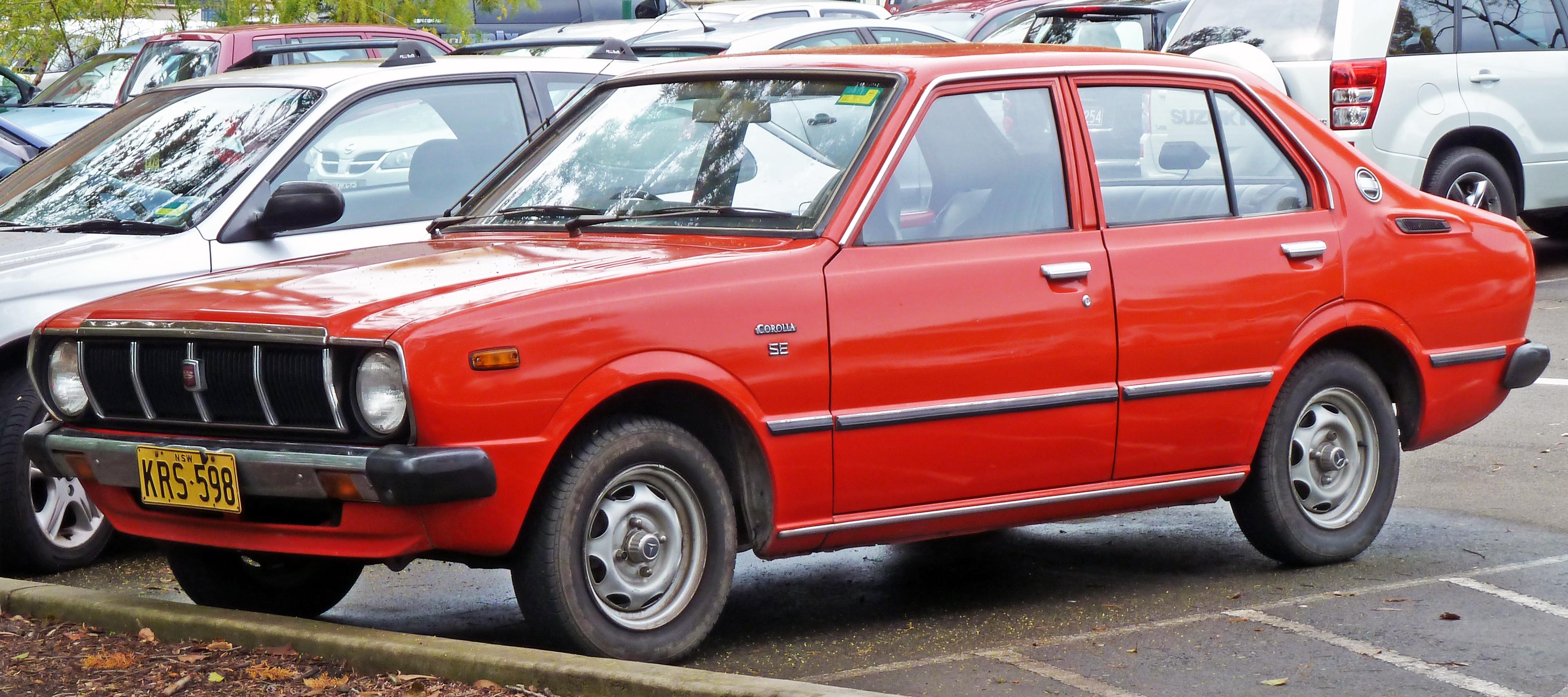 Toyota Corolla III (E30, E40, E50, E60) 1974 - 1979 Coupe #2