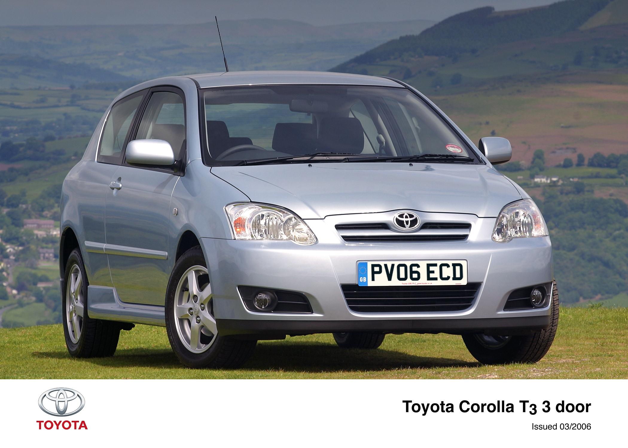 Toyota Corolla IX (E120, E130) Restyling 2004 - 2007 Hatchback 3 door #3