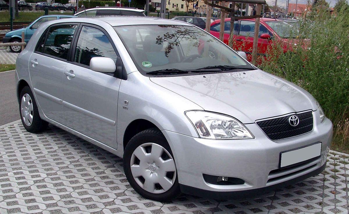 Toyota Corolla IX (E120, E130) Restyling 2004 - 2007 Hatchback 5 door #1