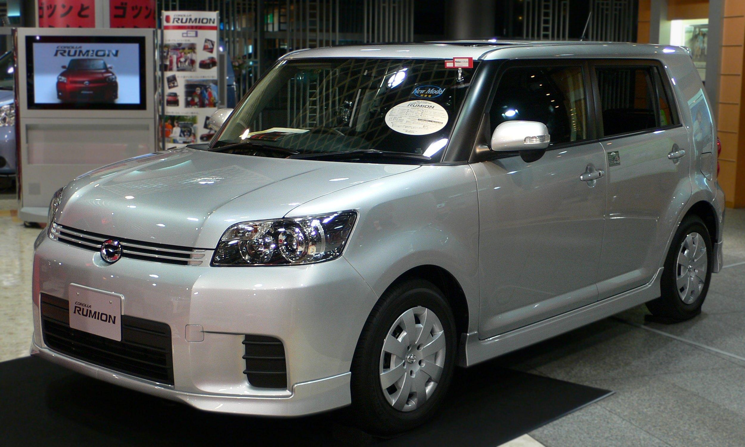 Toyota Corolla Rumion 2007 - now Station wagon 5 door #5