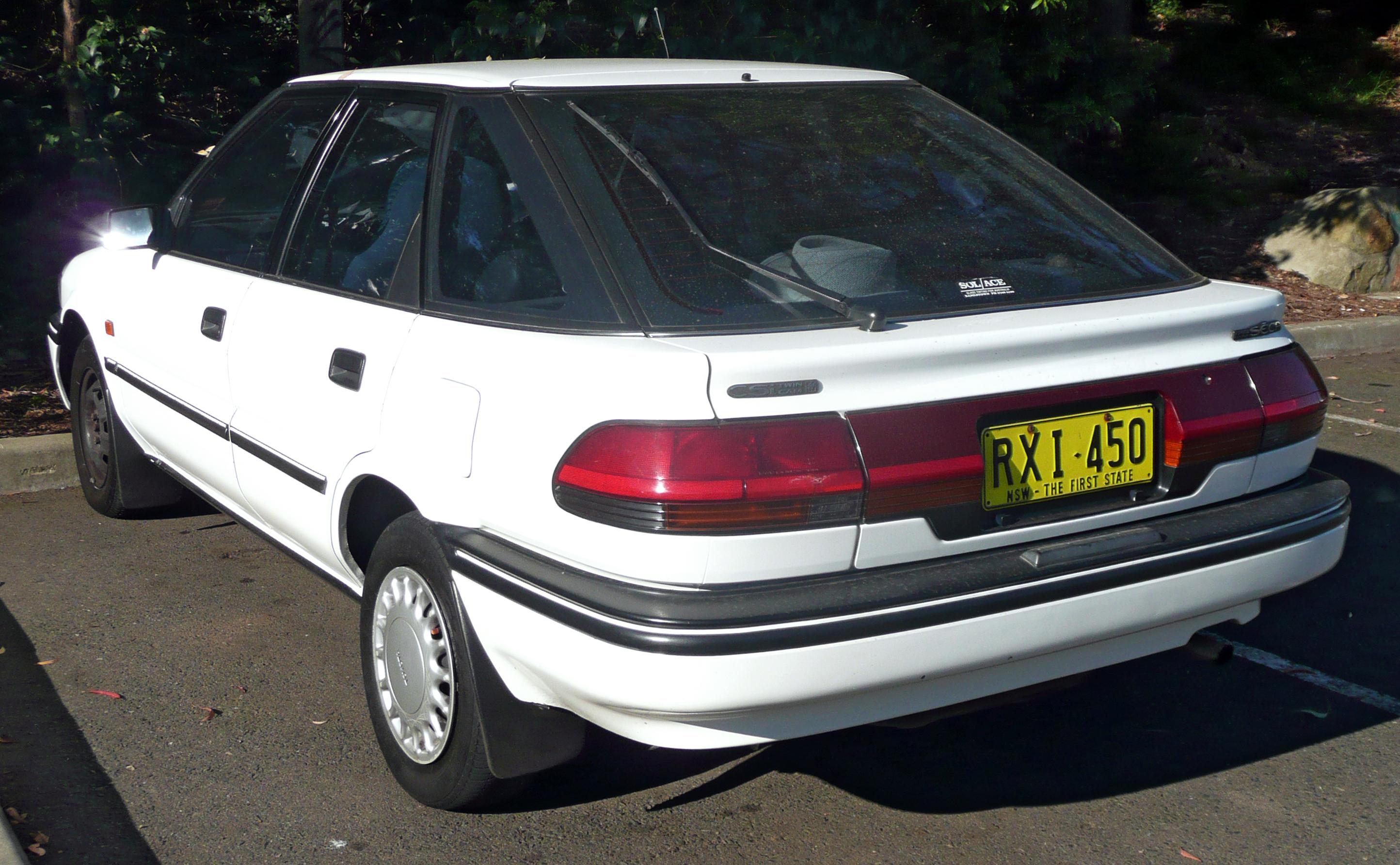 Toyota Corolla VII (E100) 1991 - 2002 Liftback #3