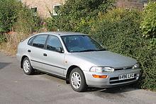 Toyota Corolla VII (E100) 1991 - 2002 Liftback #8