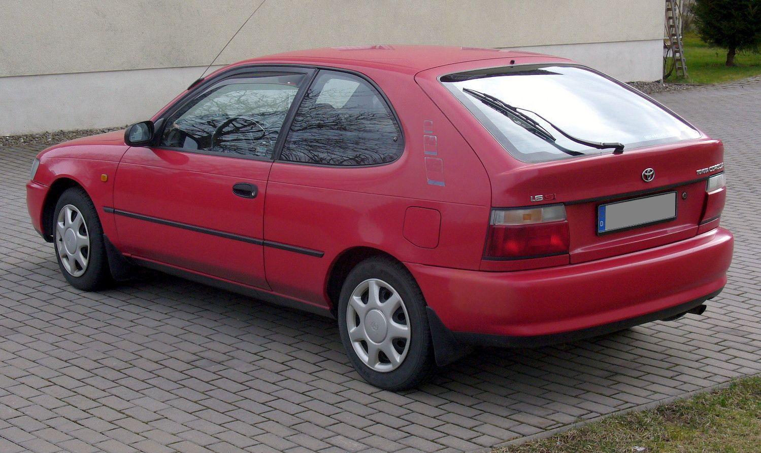 Toyota Corolla II V (L50) 1994 - 1999 Hatchback 3 door #4