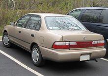 Toyota Corolla VII (E100) 1991 - 2002 Liftback #5