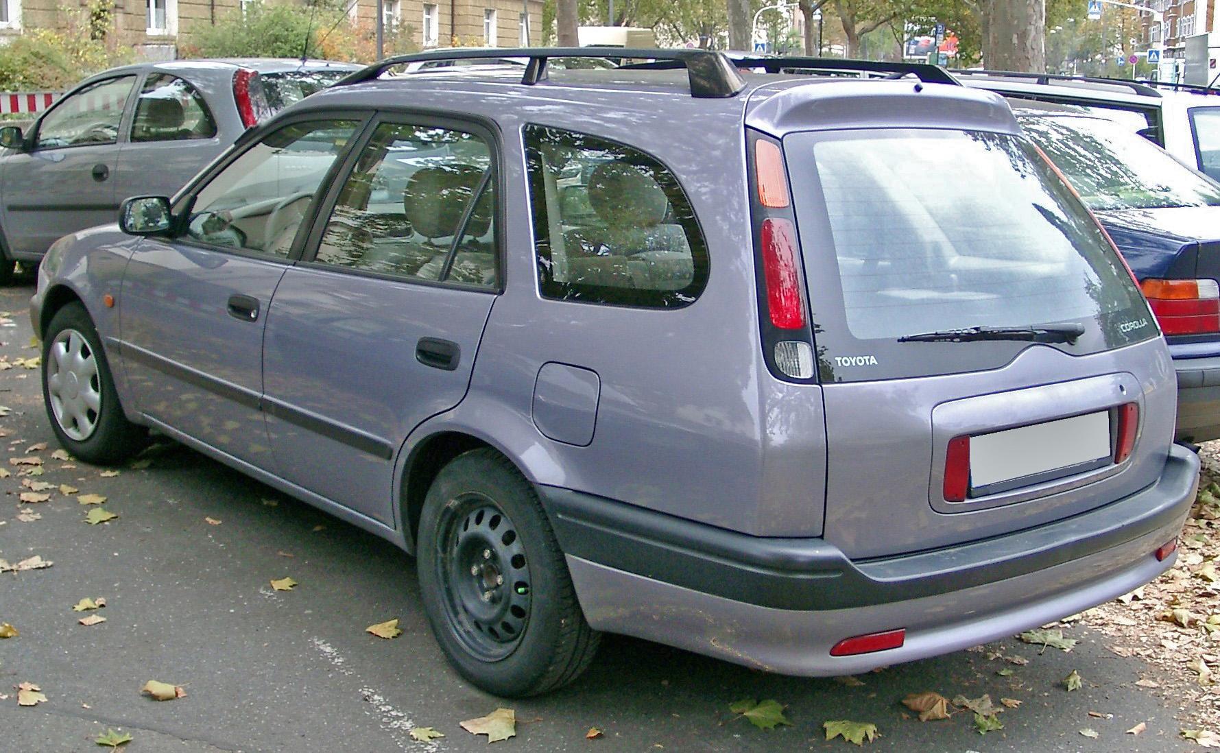 Toyota Corolla VIII (E110) 1997 - 2000 Coupe #3