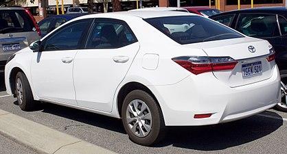 Toyota Corolla XI (E160, E170) Restyling 2015 - now Sedan #3