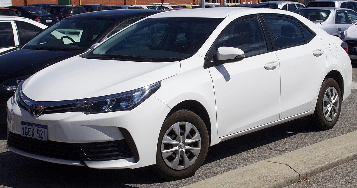 Toyota Corolla XI (E160, E170) Restyling 2015 - now Sedan #1