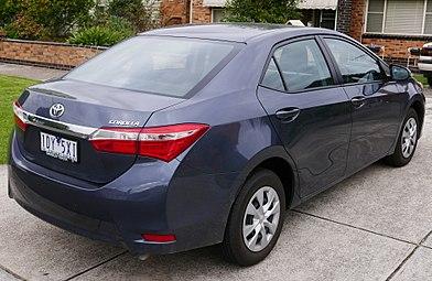 Toyota Corolla XI (E160, E170) Restyling 2015 - now Sedan #7