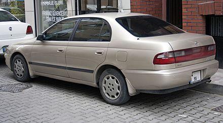 Toyota Corona IX (T190) 1992 - 1998 Liftback #6