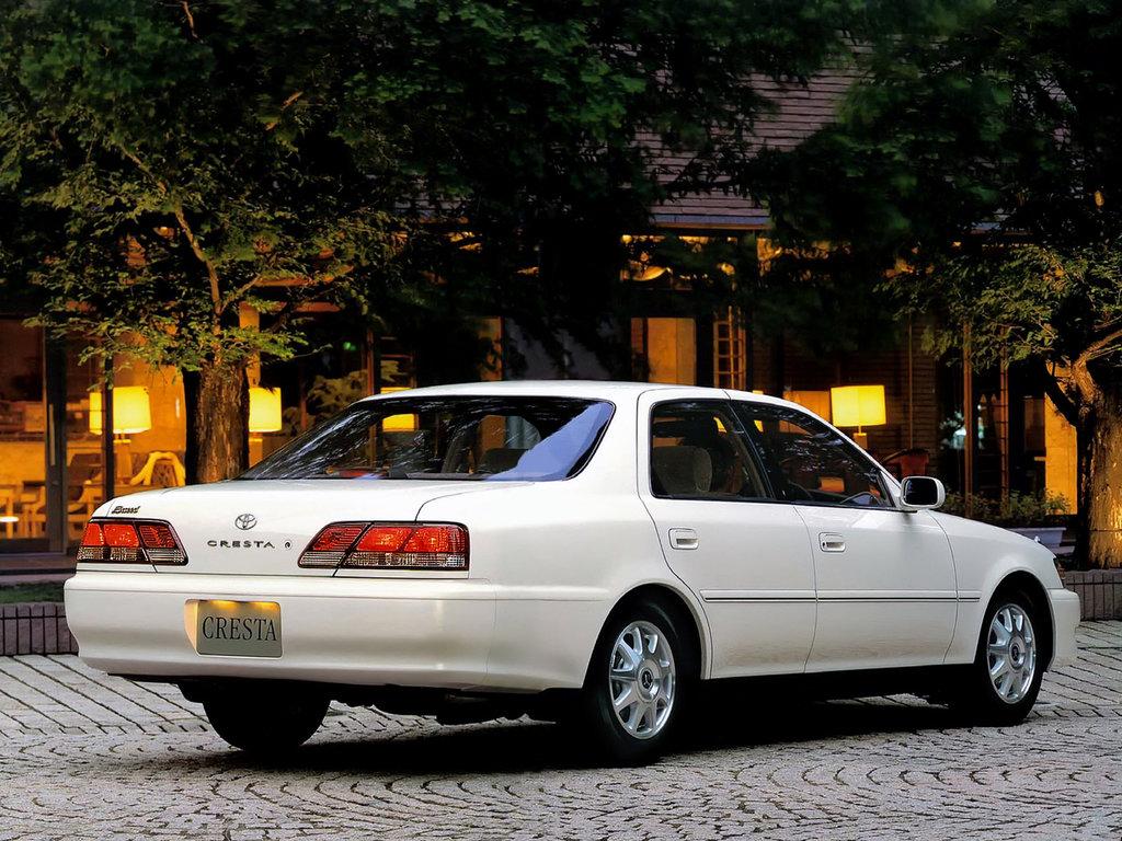 Toyota Cresta V (X100) Restyling 1998 - 2001 Sedan #1