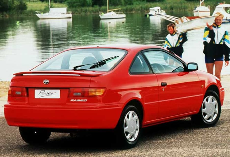Toyota Cynos II (L52, L54) 1995 - 1999 Coupe #4