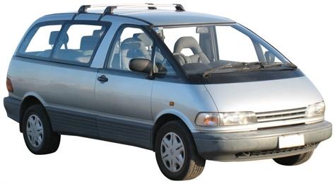 Toyota Estima I 1990 - 2000 Minivan #2