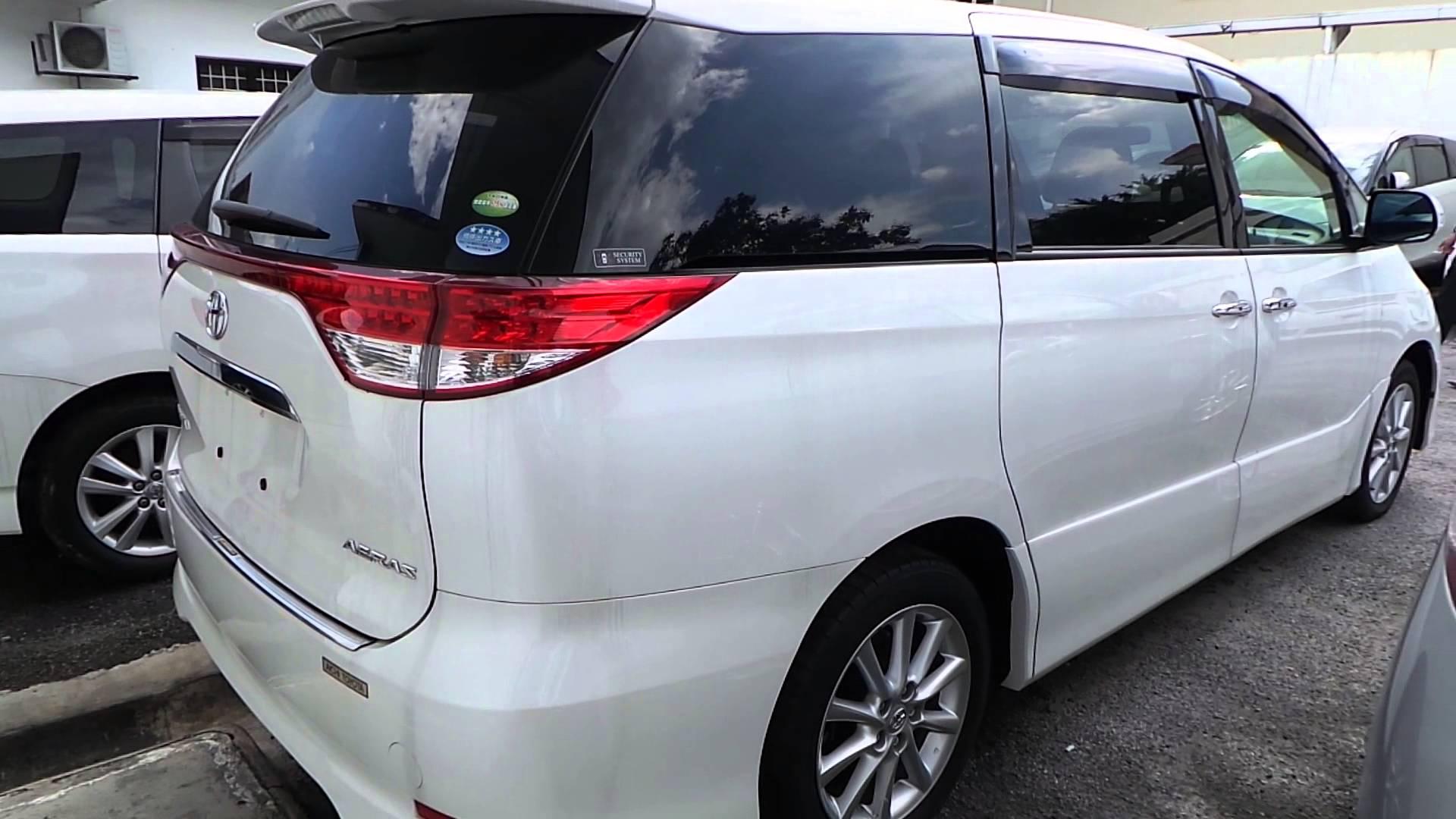 Toyota Estima III Restyling 3 2016 - now Minivan #7