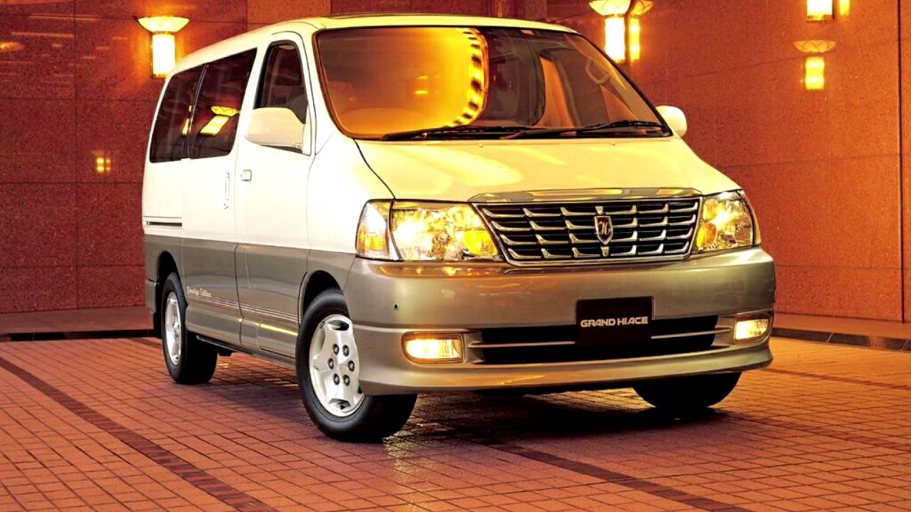 Toyota Grand HiAce I 1999 - 2002 Minivan #8