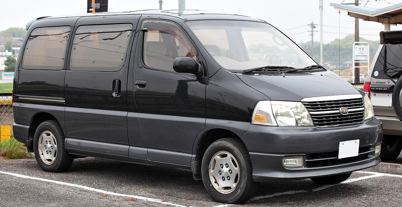Toyota Regius 1999 - 2002 Minivan #5