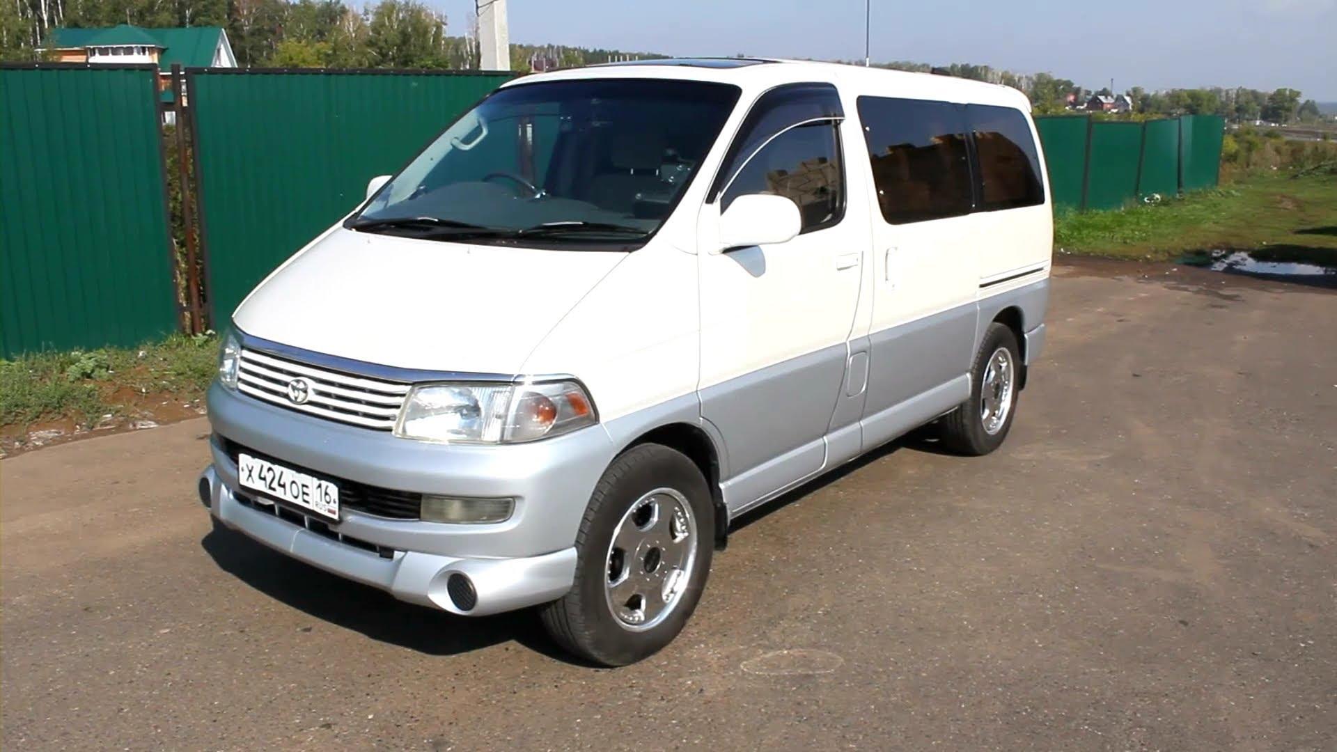 Toyota Regius 1999 - 2002 Minivan #7