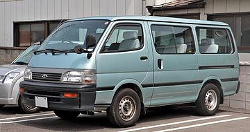 Toyota HiAce H100 1989 - 2004 Minivan #3