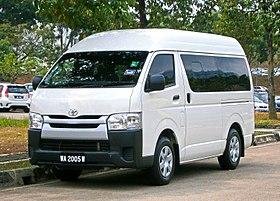 Toyota RegiusAce 1998 - 2005 Minivan #7