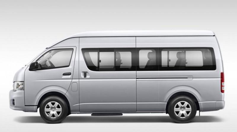 Toyota HiAce H200 Restyling 2010 - now Minivan #6