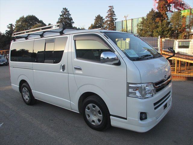 Toyota HiAce H200 Restyling 2010 - now Minivan #4