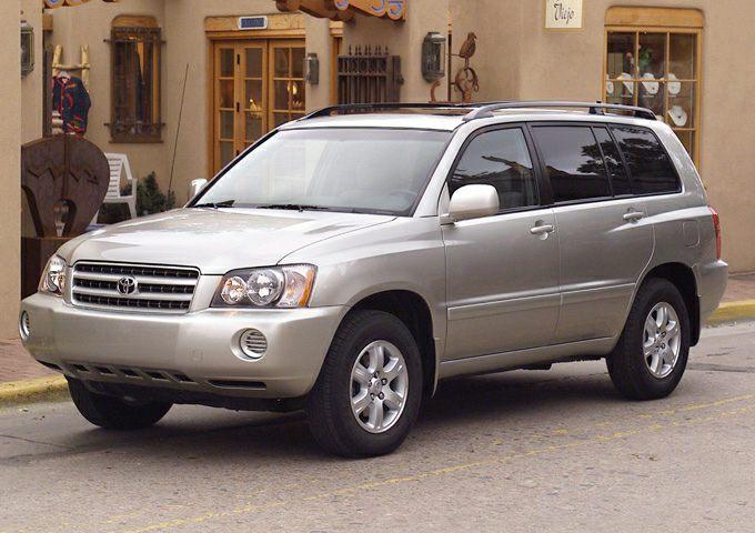 Toyota Highlander I (U20) 2001 - 2003 SUV 5 door #3