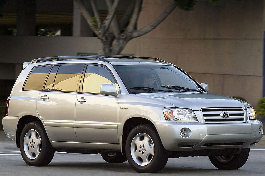 Toyota Highlander I (U20) 2001 - 2003 SUV 5 door #6