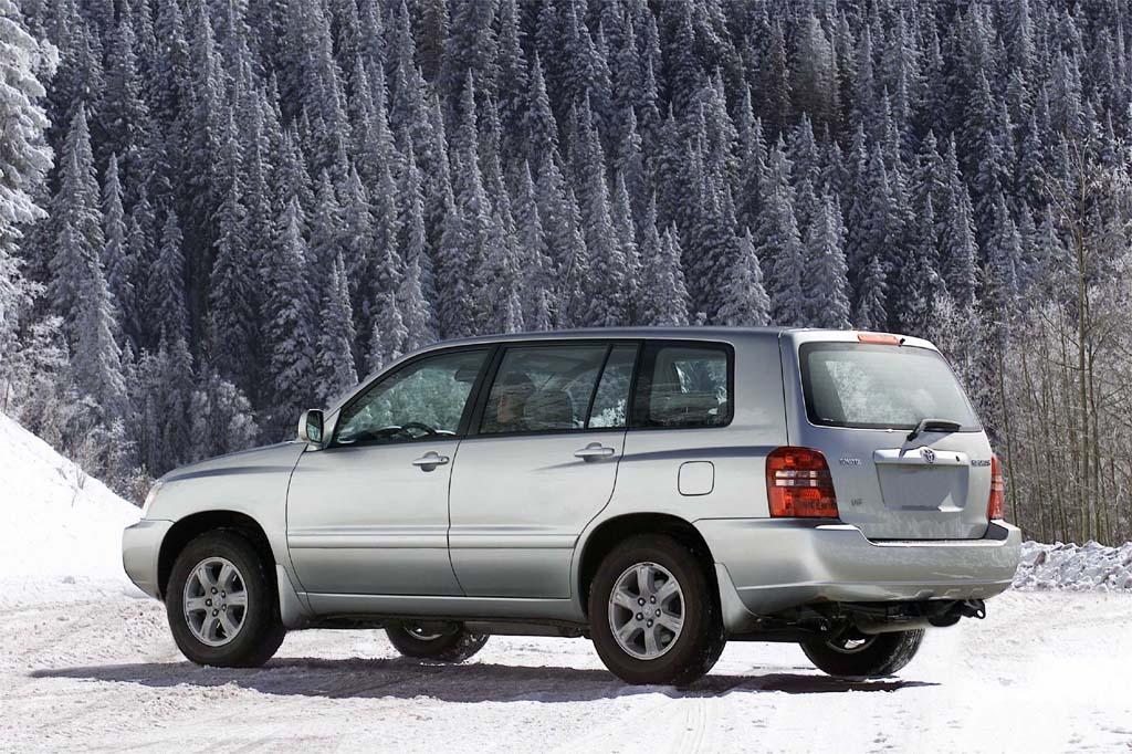 Toyota Highlander I (U20) 2001 - 2003 SUV 5 door #5
