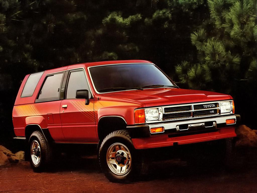 Toyota Hilux Surf I 1984 - 1989 SUV 3 door #2