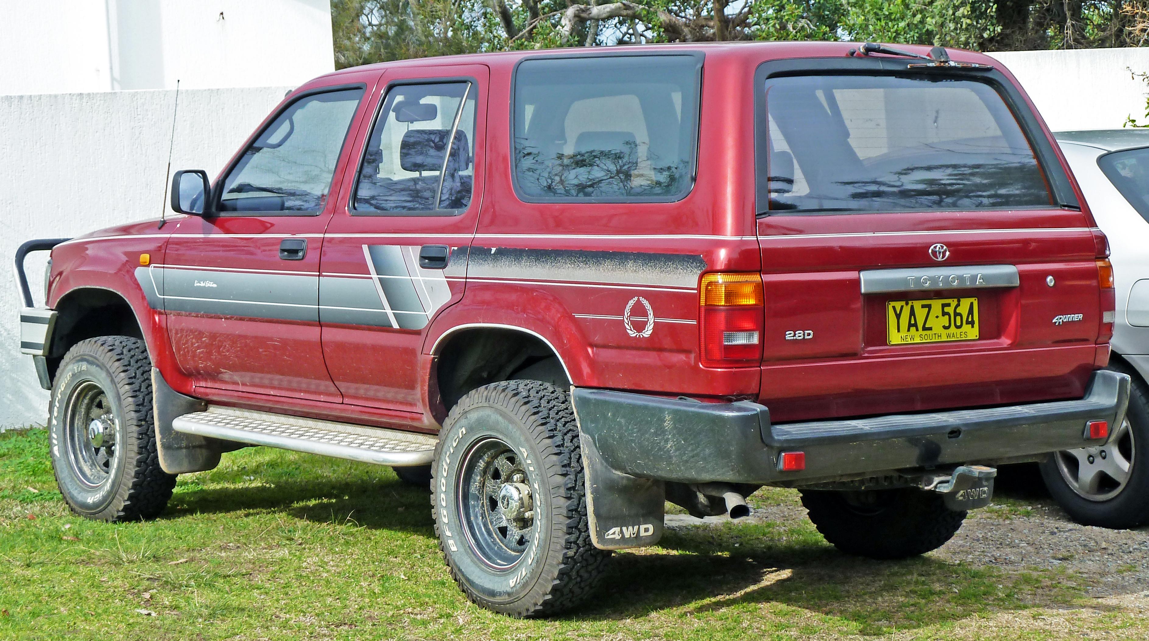 Toyota Hilux Surf I 1984 - 1989 SUV 3 door #1