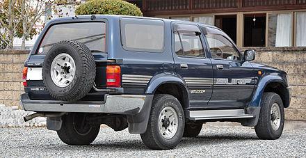 Toyota Hilux Surf II Restyling 1993 - 1995 SUV 3 door #1