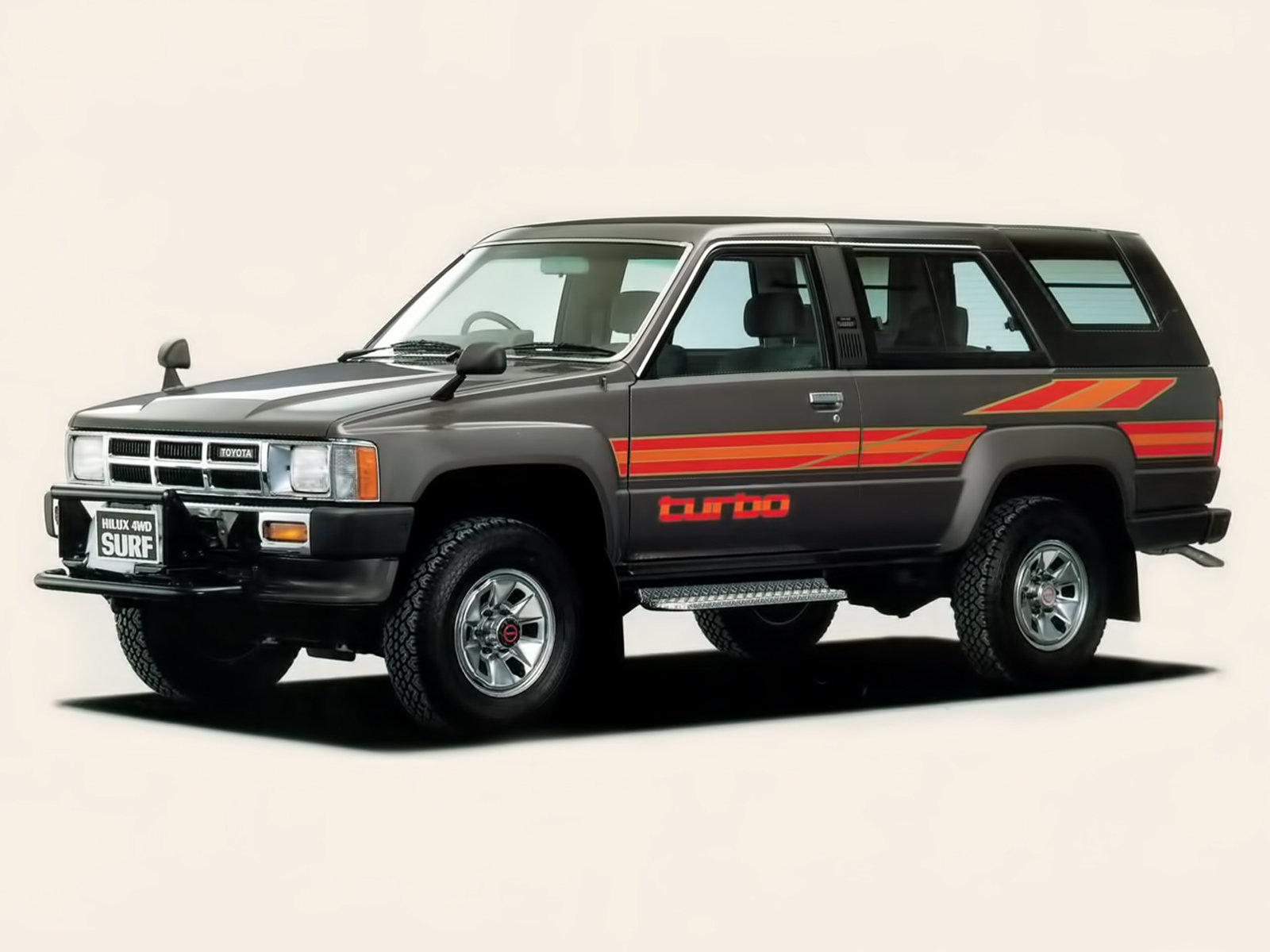 Toyota Hilux Surf I 1984 - 1989 SUV 3 door #3