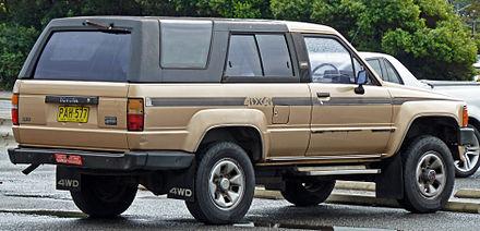 Toyota Hilux Surf I 1984 - 1989 SUV 3 door #5