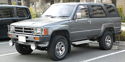 Toyota Hilux Surf I 1984 - 1989 SUV 3 door #8